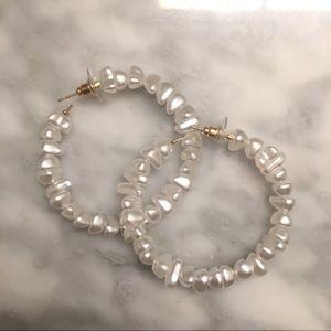 NEW Zara White Earrings